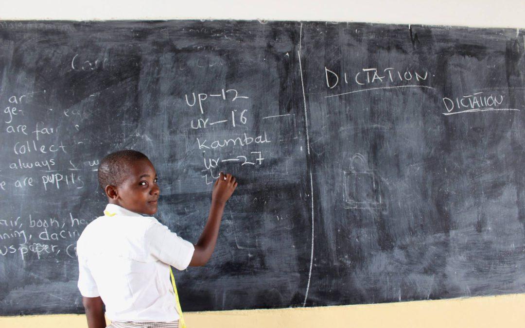 Scuola in swahili si scrive SHULE