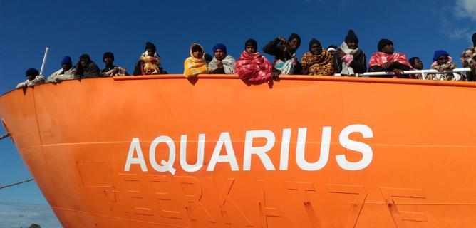 Nave Acquarius: il nostro pensiero con FOCSIV