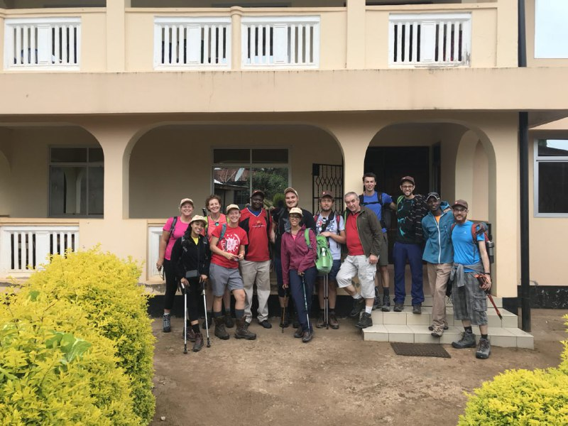 Verso la vetta del Kilimanjaro